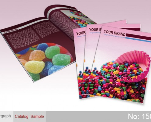 نمونه طرح کاتالوگ شیرینی , طراحی کاتالوگ , طراحی حرفه ای کاتالوگ