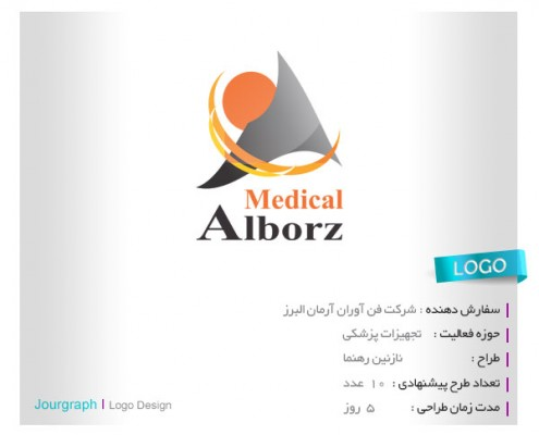 طراحی لوگو , طراحی آرم , طراحی لوگو تجهیزات پزشکی , لوگو تایپ , طراحی برند