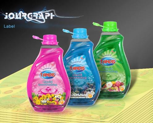 چاپ لیبل , طراحی و چاپ لیبل مایع دستشویی