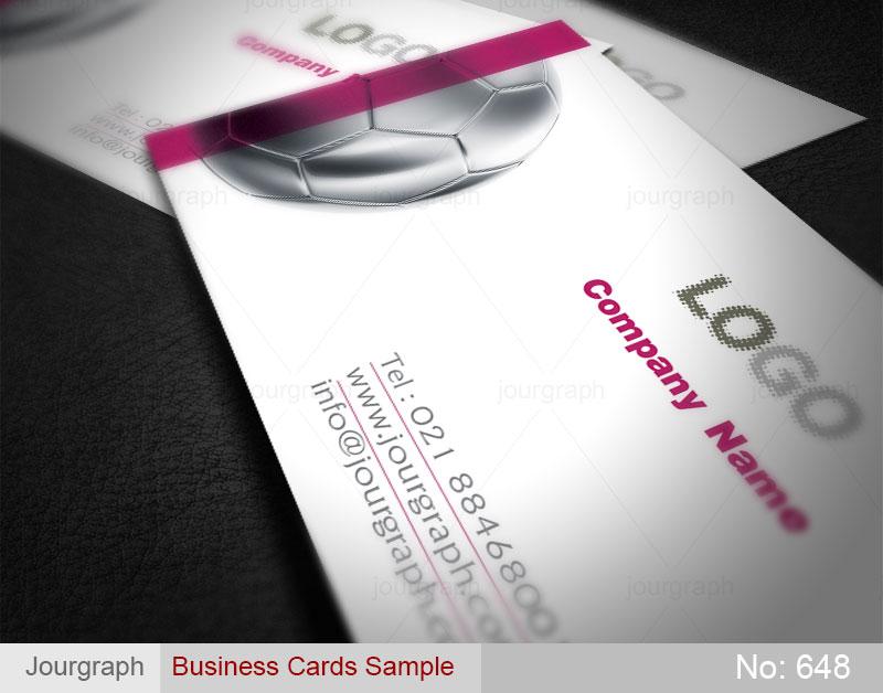 نمونه طرح کارت ویزیت , کارت ویزیت فوری , کارت ویزیت لوازم ورزشی