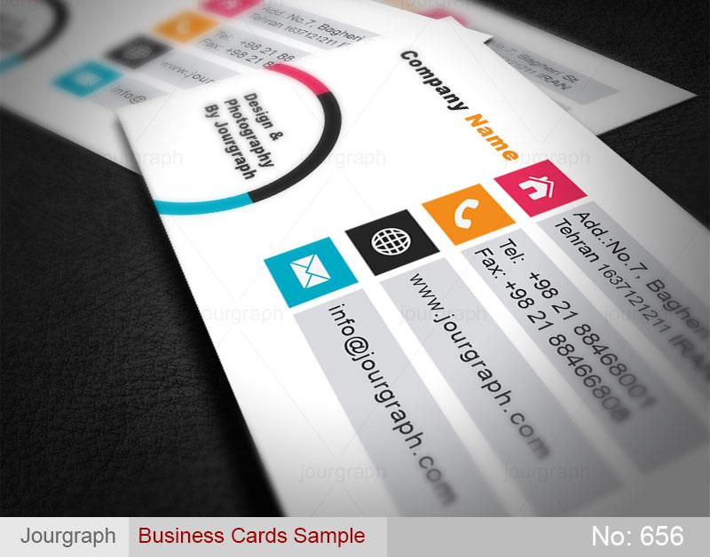 نمونه طرح کارت ویزیت