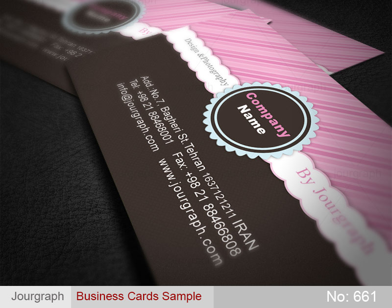 نمونه طرح کارت ویزیت , چاپ کارت ویزیت , طرح کارت ویزیت شیرینی فروشی